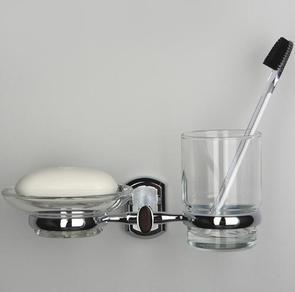 Держатель стакана и мыльницы Wasser Kraft K-3026