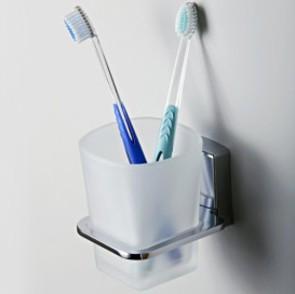 Стакан для зубных щеток стеклянный  Wasser Kraft К-5028