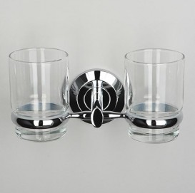 Подстаканник двойной стеклянный Wasser Kraft K-6228D
