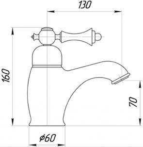 Смеситель для раковины Migliore Bomond ML.BMD-9714 с гигиенической лейкой
