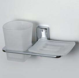 Держатель стакана и мыльницы Wasser Kraft К-5026