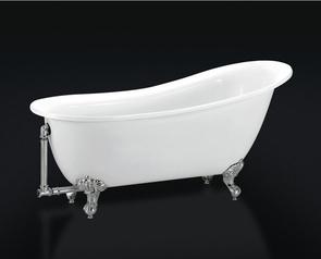 Слив-перелив для ванны BelBagno арт. BB567-OVF-CRM, хром