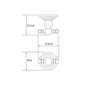 Крючок двойной Wasser Kraft К-7023