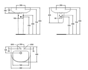 Раковина подвесная Ideal Standard PLAYA J491401