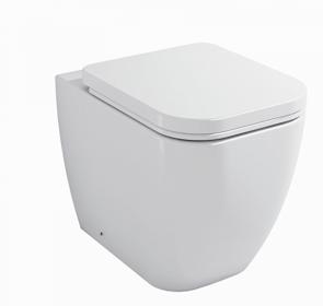 Унитаз приставной BelBagno Alise BB540CB с крышкой-сиденьем микролифт