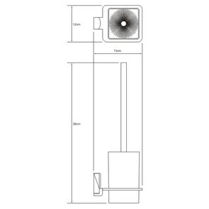 Щетка для унитаза подвесная Wasser Kraft К-5027