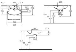 Раковина подвесная Ideal Standard MOTION W890001