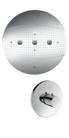 Верхний душ (тарелка) Hansgrohe Raidance Rainmaker 28403000