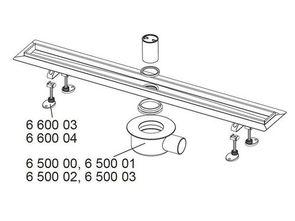 Дренажный канал TECEdrainline прямой