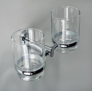 Подстаканник двойной стеклянный Wasser Kraft K-3028D